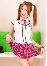 Slim Ladyboy Lala - Schoolgirl Seduction