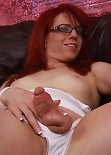 Your Shemale Stepmom Wants to Play With Your Balls