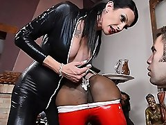 Natassia & Morgan enjoying a slave