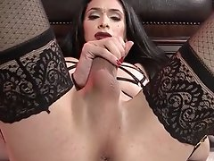 Penny couldn't contain Her Huge Throbbing Cock