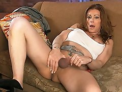 Incredible TMILF Jasmine toying, peeing & stroking off