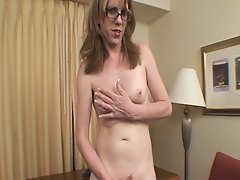 Wendy Summers beams down from the SS Tranny to go where no tgirl has gone before.