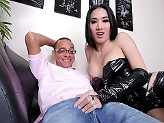 May loves to have a huge Ramon cock in her shemale ass!