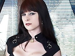Different tranny Hannah Sweden is sexy and sophisticated and has tits to die for