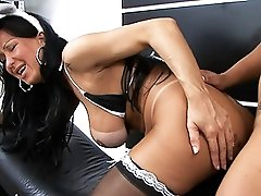Naughty transsexuals enjoying each other