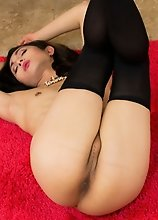 This Asian tgirl is looking for fun ways to keep warm this winter, got any ideas?