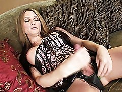 Kelly Shore Playing With Her Enormous Cock